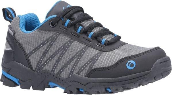 Cotswold Littledean Childrens Hiking Boots Blue / Grey